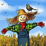 Scarecrow OddsNEnds by Snugbat Illustration