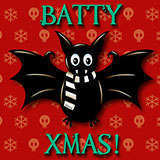 Batty_Xmas Xmas by Snugbat Illustration