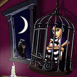 In_Her_Tantrum_Cage Darklings by Snugbat Illustration