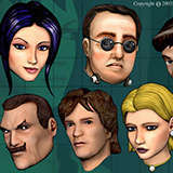 BS3_Icons_2 Games by Snugbat Illustration