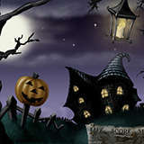 Spooky_BG_Concept Games by Snugbat Illustration