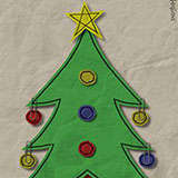Paper_Xmas_Tree Xmas by Snugbat Illustration
